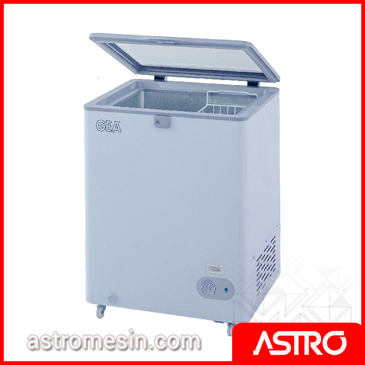 Sliding Flat Glass Freezer GEA SD-100F Surabaya