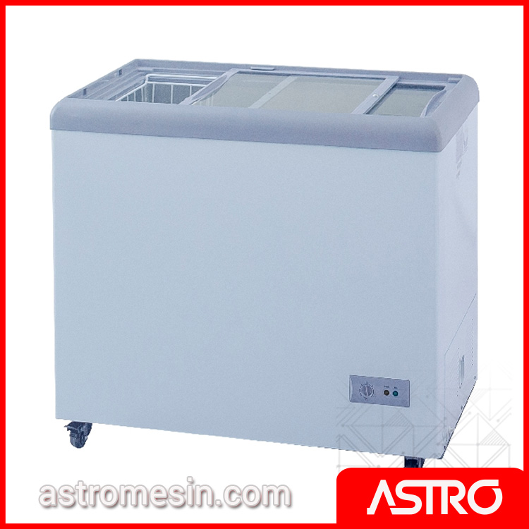 Sliding Flat Glass Freezer GEA SD-186 Surabaya