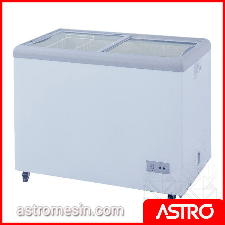 Sliding Flat Glass Freezer GEA SD-256 Surabaya