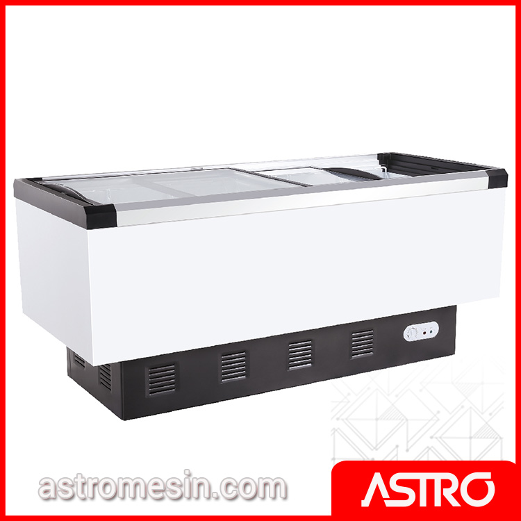 Sliding Flat Glass Freezer GEA SD-566BP Surabaya