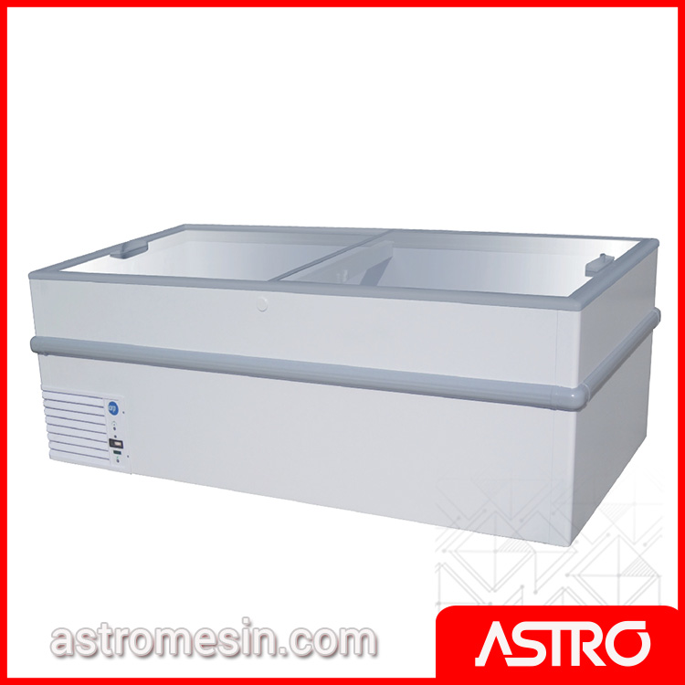 Sliding Flat Glass Freezer GEA STELLA-200 Surabaya