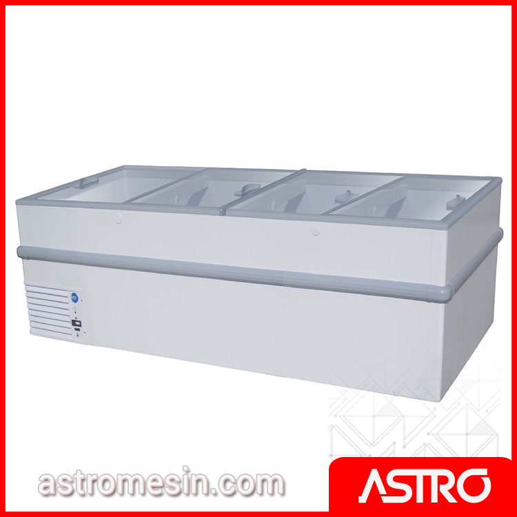 Sliding Flat Glass Freezer GEA STELLA-250 Surabaya