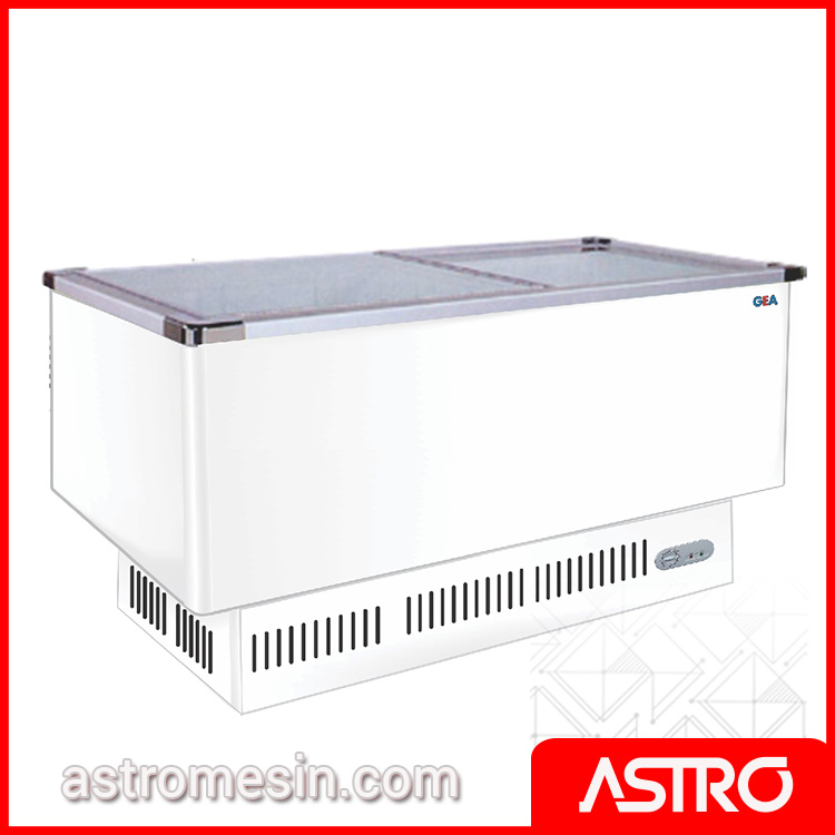 Sliding Flat Glass Freezer GEA Tipe SD-BP Surabaya