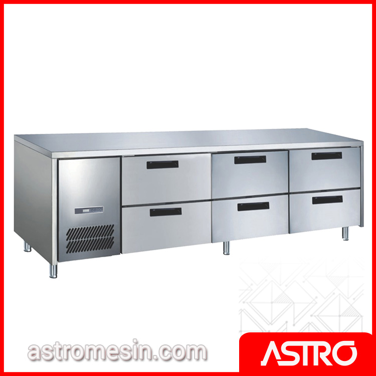 Under Counter Chiller Drawer Series GEA M-RW6T2NN Surabaya