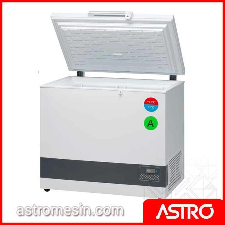 Vaccine Cooler Green ILR Technology GEA VLS-300A-AC Surabaya